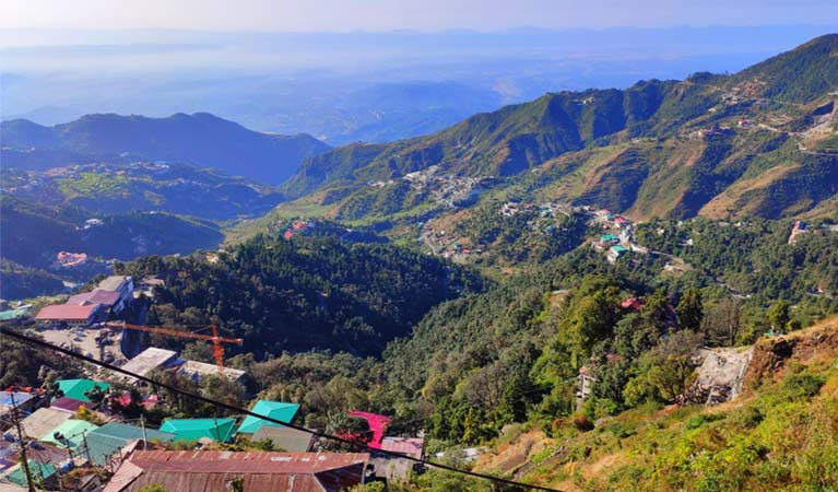 staycation at Mussoorie